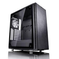 Fractal Design Define C TG metà Custodia per Torre dei giochi - Nero USB 3.0