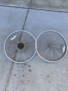 "1985 Mongoose ATB 26"" old school Mountain Bike Wheel set"