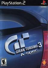 Gran Turismo 3 A-spec Video Game - SONY PlayStation 2, 2006 PS2 Black Label RARE