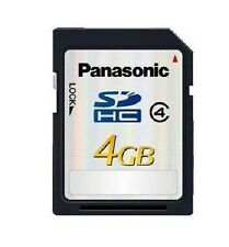 Panasonic 4GB SDHC Card Class 4 Memory Card 20MB/s SD Card Made In Japan