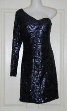 Polyester Dresses Size Petite for Women with Sequins