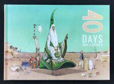 Moebius - 40 Days Dans Le Desert B - New Hardcover Art Book! First Printing!