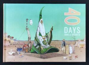 Moebius - 40 Days Dans Le Desert B - New Hardcover Art Book!