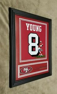 San Francisco 49ers Steve Young Framed 8x10 Jersey Photo
