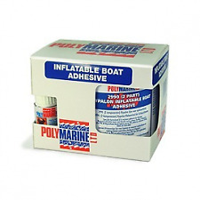 Polymarine Hypalon 2 Part Adhesive Glue. 250ml Tin. Rubber Dinghy, Boat etc.