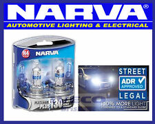 Narva H4 12V 60/55W Headlight Globes Platinum Plus 130 48542BL2