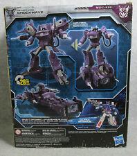 Transformers Siege Decepticon Shockwave War for Cybertron Leader class MISB