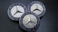 Mercedes Benz Front Hood Badge Bling Logo Emblem With Swarovski Crystals