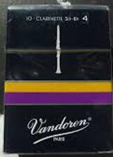 Lot de 2 boites de Anche clarinette Sib  Force 4 (Boîte de 10) Vandoren