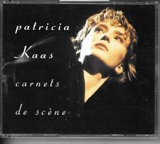 COFFRET 2 CD COMPIL LIVE 20 TITRES--PATRICIA KAAS--CARNETS DE SCENE