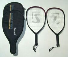 2 Spalding Pro Racquetball Super Oversized Series The Goliath Comp Rackets Xxs