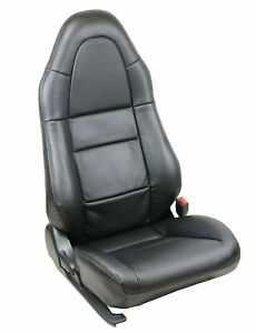 Toyota MR2 2000-2002 Black Leatherette Seat covers replacement