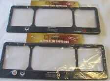 MELBOURNE VICTORY FULL SLIM LINE PAIR LICENCE NUMBER PLATE FRAMES A LEAGUE