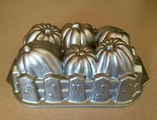 Nordic Ware Pumpkin Patch Loaf Pan Mold Non-Stick Heavy Cast Aluminum