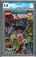 "X-Men Annual #14 (1990) CGC 9.8  White Pages  Claremont - Adams  ""Gambit"" Cameo"