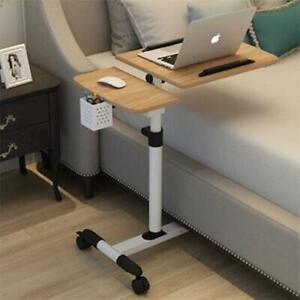 Foldable Computer Table Adjustable Portable Laptop Desk Rotate