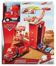 Official Disney Cars Transforming Mack Playset  **NEW**