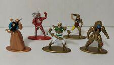 POWER RANGERS Jada Toys Nano 5 Metalfigs Lot Figures Drakkon Rita Scorpina Zedd