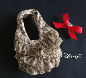 Build-A-Bear BROWN ANIMAL PRINT PURSE SEQUINSTeddy Clothes Accessory