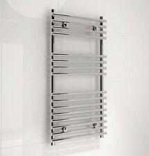 Kudox Harrogate Silver Towel Rail (H) 900mm (W) 450mm Bathroom B&Q RRP £150