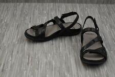 **Earth Sand Maui 602776WLEA Sandals, Women's Size 6 M, Black NEW