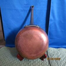 """BAUMALU France 8"""" Copper Frying Pan / Skillet, Tin Lined, Cast Iron Handle"""