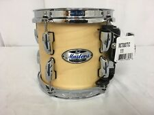"""Pearl Masters Complete MCT 8"""" Mounted Tom/Finish #111/Matte Natural/Brand New"""