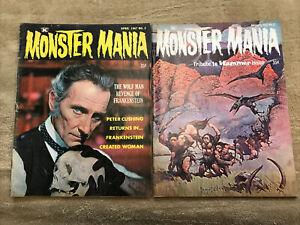 Monster Mania # 2 & 3 Vintage Magazine Like Famous 1967 Frank Frazetta Cover