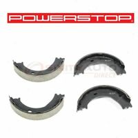 1990 For Ford F-250 Rear Drum Brake Shoes Set Stirling with 2 Years Manufacturer Warranty Both Left and Right