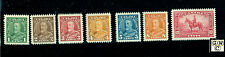 Canada #217-227 (11) M.L.H.  VF  Stamp Catalog value $230