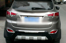 For Hyundai Tucson ix35 2010-2014 Auto Chrome Rear Fog Light Frame Cover Trim