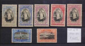 ! Tonga 1923-1938. Lot Of 7  Stamp. YT#. €60.75!