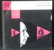 Honegger Le Roi David Jean Gitton CFD 46 2 LP VG++, CV EX, livret NM
