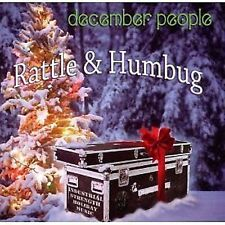 December People Rattle & Humbug CD NEW SEALED 2010 Christmas Robert Berry
