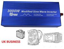 3000W (6000W Peak) DC 24V - AC 240V POWER INVERTER  Truck Lorry Microwave kettle