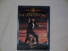 #1829 James Bond 007 For Your Eyes Only (DVD, 1999, Special Edition)