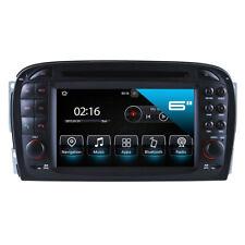 "Mercedes Benz SL 350 500 55 600 R230 7"" Touchscreen Android Autoradio NAVI GPS"