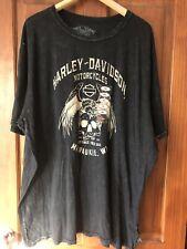 Harley-Davidson motorcycle men Bikers T-shirt gray cotton 2xl-3xl