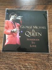 """❤️SUPER RARE FAN CLUB 7""""❤️ Somebody To Love-George Michael (Queen/Wham!) MINT"""