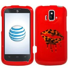 Design Faceplate Hard Cover Case for AT&T ZTE Radiant Z740 Sonata 4G Phone