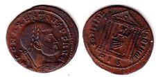 C1 MAXENCE Maxentius FOLLIS Rome 311 / Temple SUP Patine
