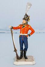 Hand Painted Metal Figure British Napoleonic Infantry Soldier 90mm Waterloo