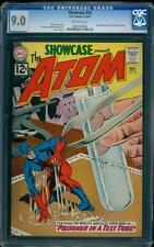 Showcase 36 CGC 9.0 OW Silver Age Key DC Comic 3rd SA Atom App L@@K IGKC