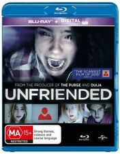 Unfriended (Blu-ray, 2015) NEW