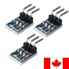 3 Pack AMS1117 3.3V 3 Pin Voltage Regulator Module 4.5-7V to 3.3V DC