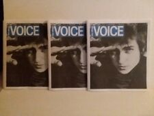 VILLAGE VOICE - LAST ISSUE EVER - BOB DYLAN COVER - 3 COPIES - FREE SHIPPING