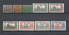 More details for tunisia 1916 sg 51/59 mint cat £250