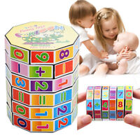 3 Pcs Digital Cube Puzzle Arithmetic Toy Educational Early Math