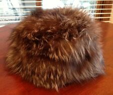 Vintage Fox Hot Heads Hat By Fur Flyers Gorgeous REAL Fox Hat