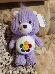 Care Bears Series 4 Special Edition Soft Lil Bears Harmony Bear Plush 2003 NEW